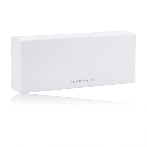 CONTEMP SHAVING KIT WHITE