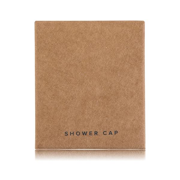 CONTEMP SHOWER CAP BROWN FRONT